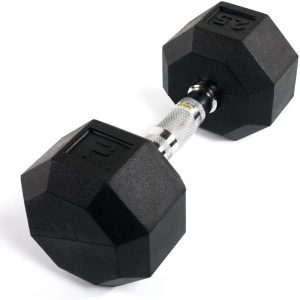 Power Systems Rubber Octagonal Dumbbell
