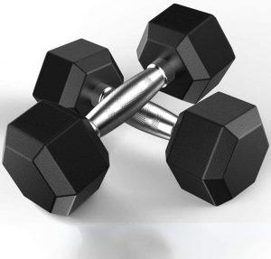 malisu Heavy Dumbbells for Muscle Toning