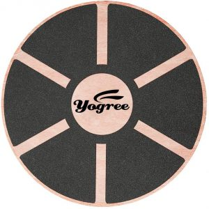 yogree Wooden Balance Board for Workout